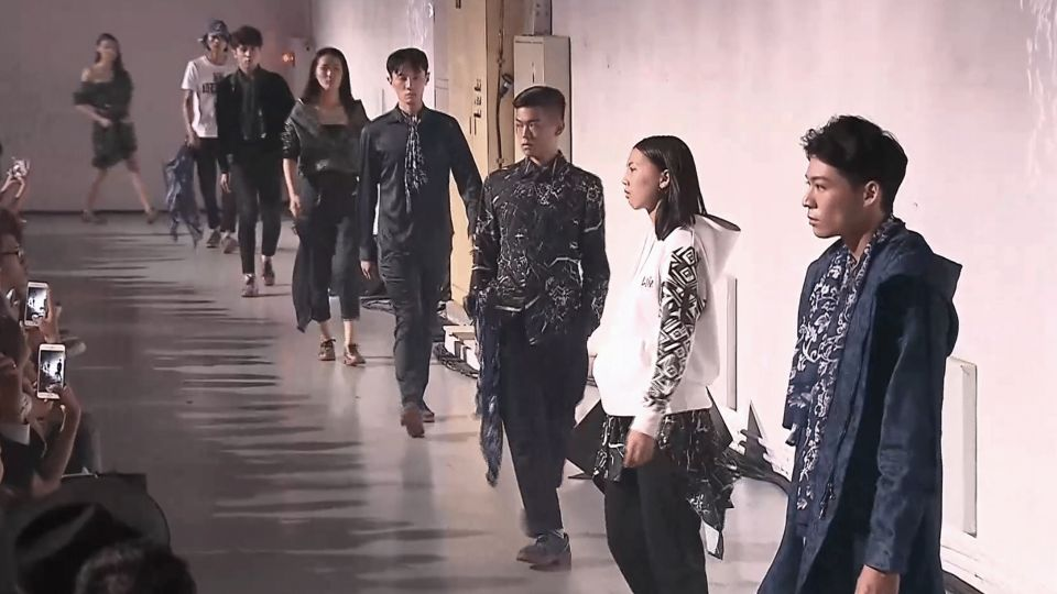 虛擬影像結合時尚秀!Daniel Wong的台灣狂想