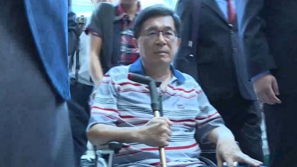 參加國慶大典? 陳水扁今送件 中監下午評估