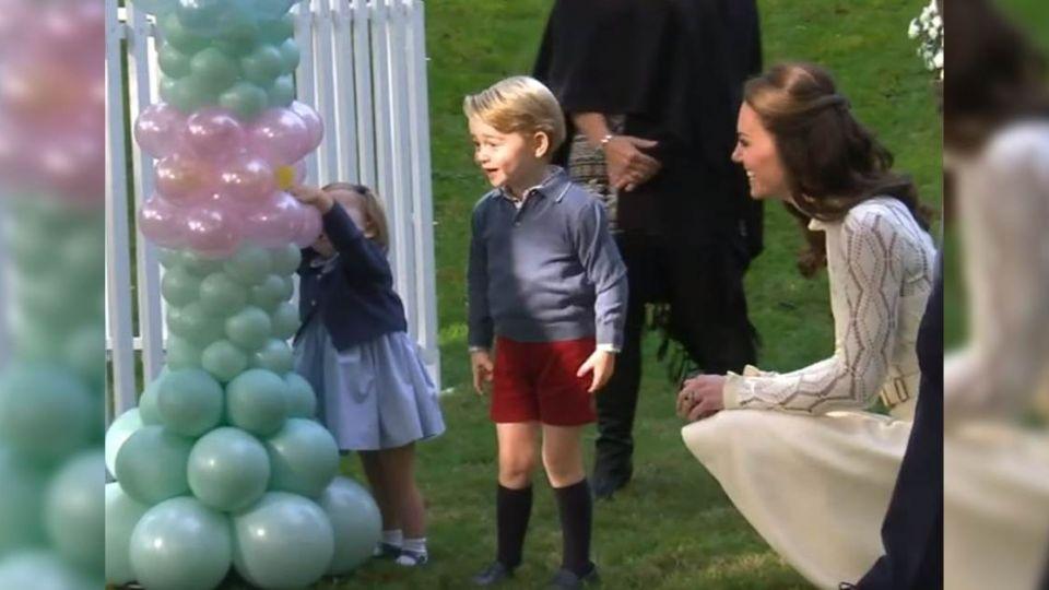 喬治小王子獨愛「短褲」?潛規則曝光原來是‧‧‧