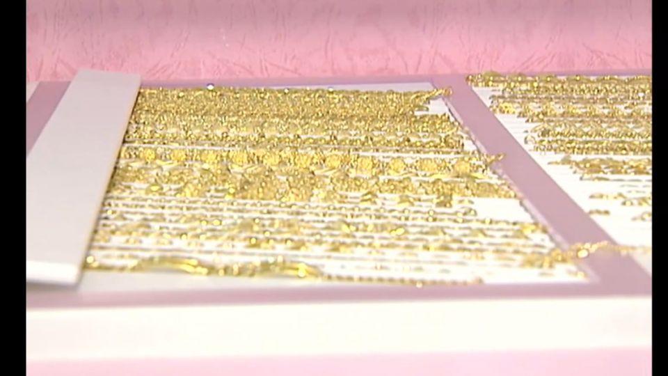 K金、鍍金怎分辨 眼觀色澤、手掂重量