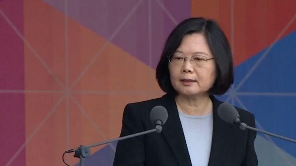 未提九二共識! 蔡英文籲:正視中華民國存在