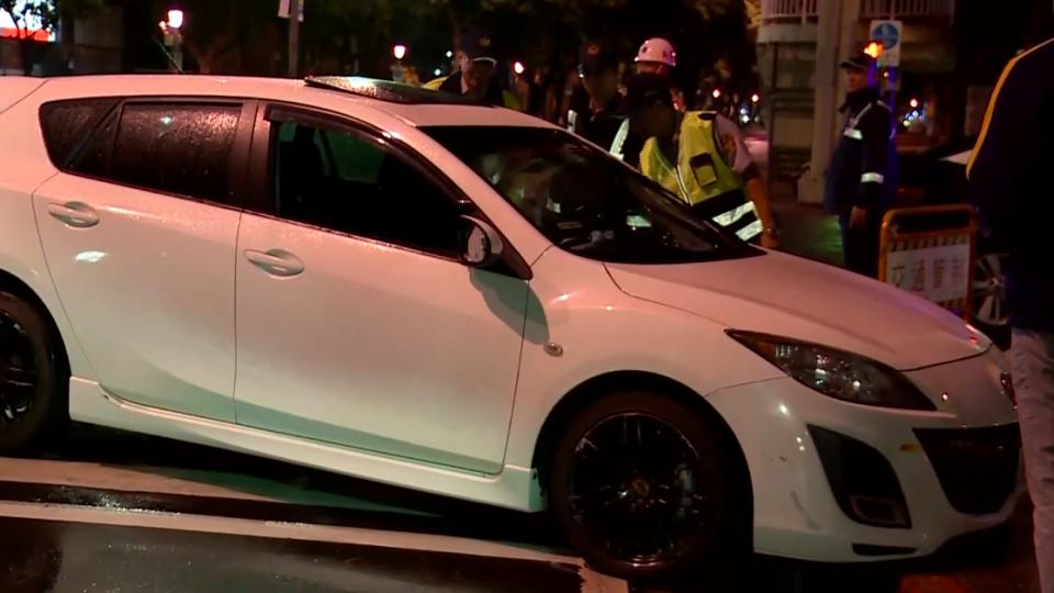 「我很對不起他」女撞國慶站崗警 闖黃燈沒注意封路