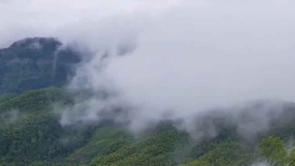 頻繁颱風帶來不平凡美景 南投武岫好美