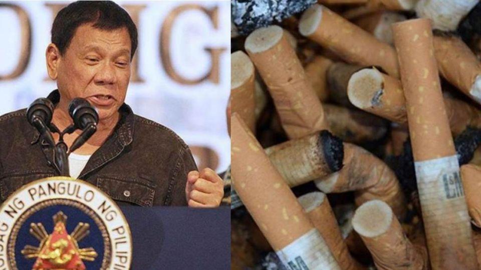 鐵腕狂人杜特蒂「血腥掃毒」 下一步瞄準癮君子「全國禁菸」