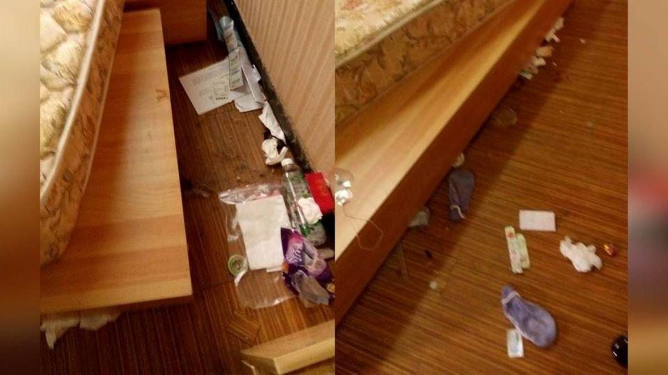 台大女學生退租!床下垃圾噴發 房東怒:做人比學歷重要
