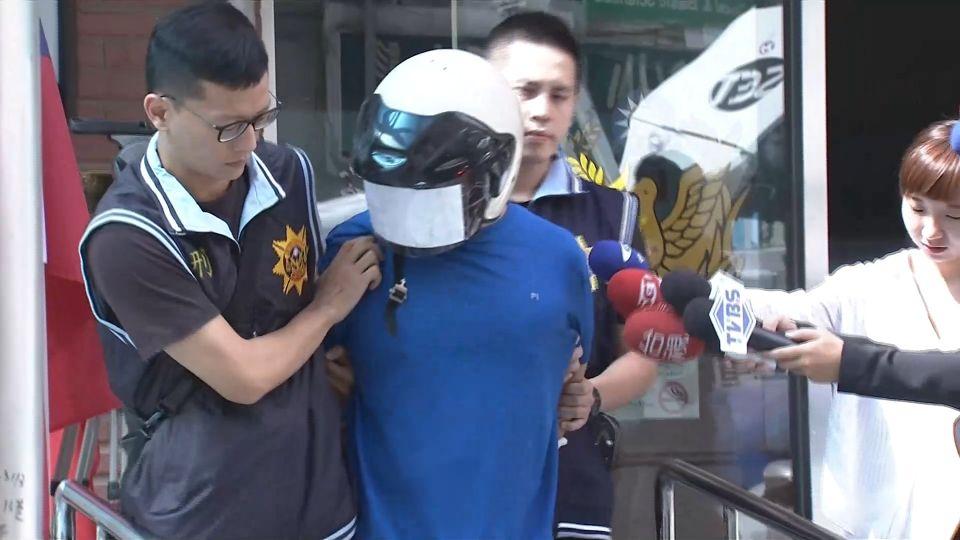 偷車賊持「玻璃碎片」襲警拒捕 勇警浴血逮