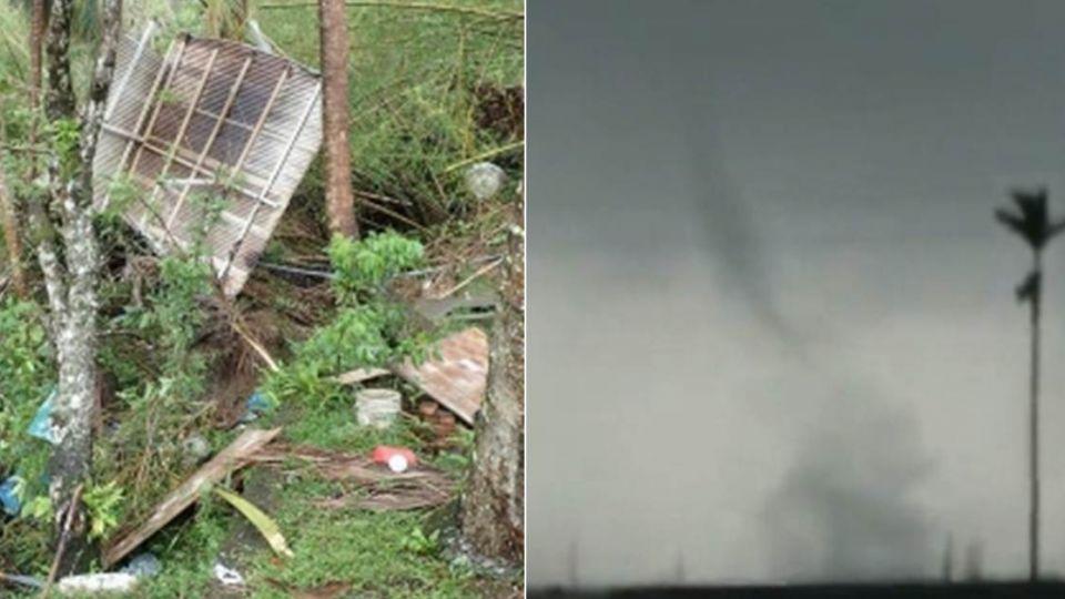海馬效應?怪風吹襲台東 豐里海邊現「水龍捲」