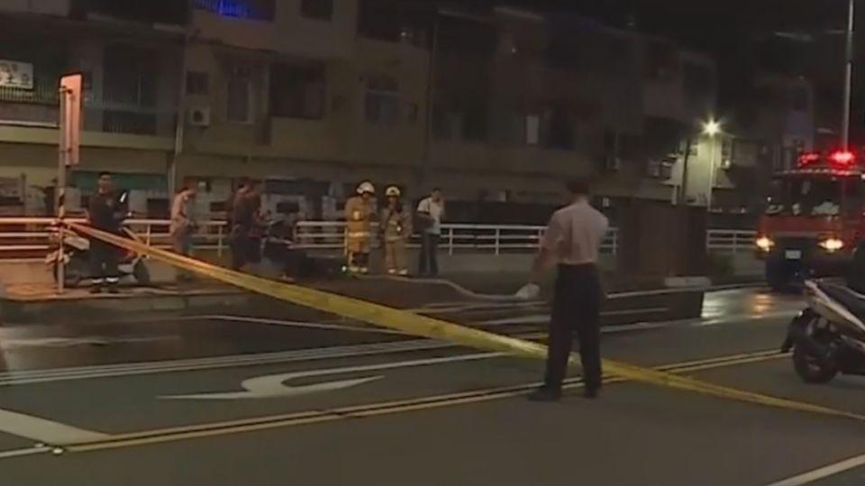 高雄市不明氣體外洩 封鎖現場800公尺