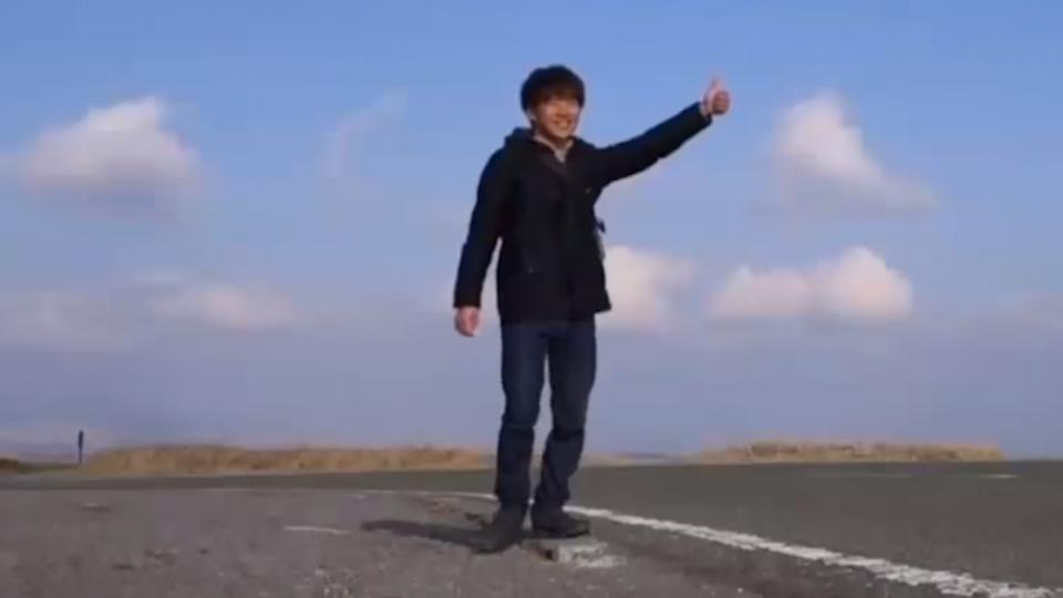 「搭便車」環日! 台男70天完成環島美夢