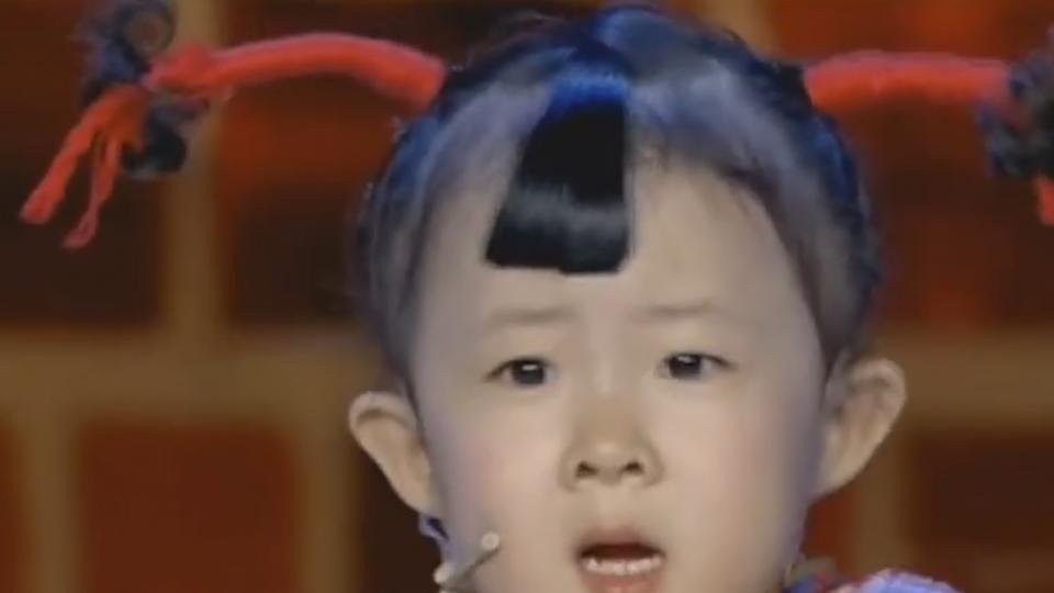 大陸選秀「笑傲江湖」 三歲女娃唱跳萌翻