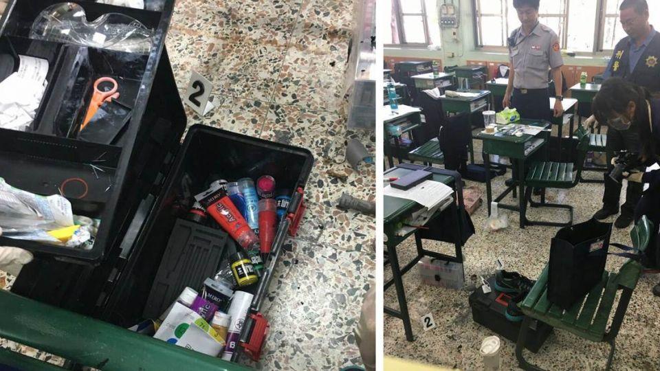 驚「爆」校園!課堂學生口袋起火 竟發現疑似「土製手榴彈」