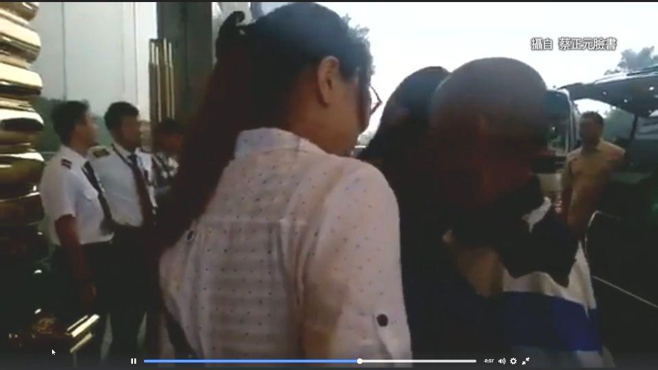 遭囚5年獲釋 台輪機長抵廣州 與妻相擁泣