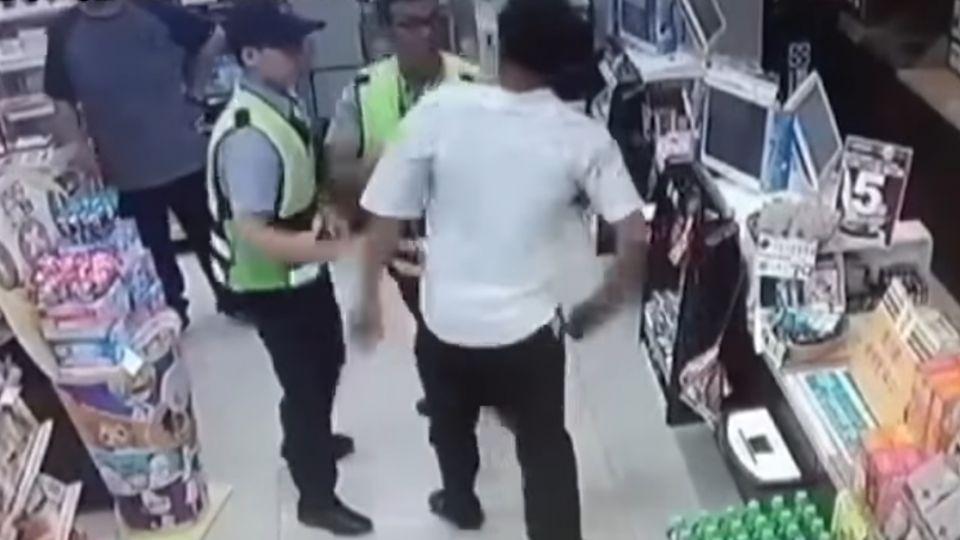 怎樣啦!酒後大鬧超商 男嗆店員又辱罵警