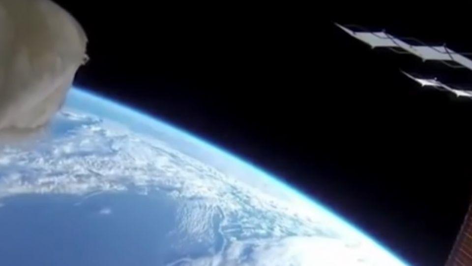 網路瘋傳宇宙太空站直播 NASA:攏係假的啦