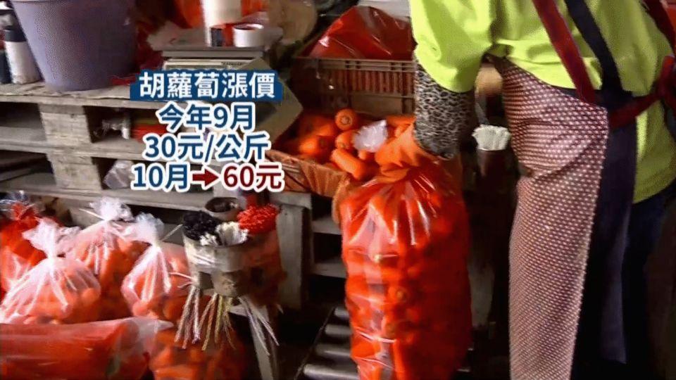 抓到了?囤積300公噸胡蘿蔔 業者否認菜蟲