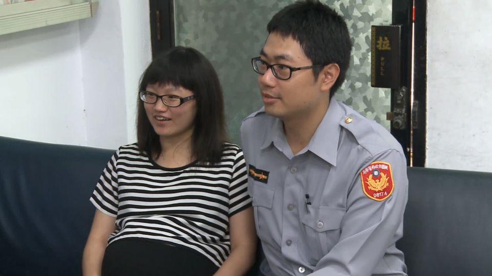 「老公快來啊」勇孕婦挺9月肚 拉機車助警夫逮賊