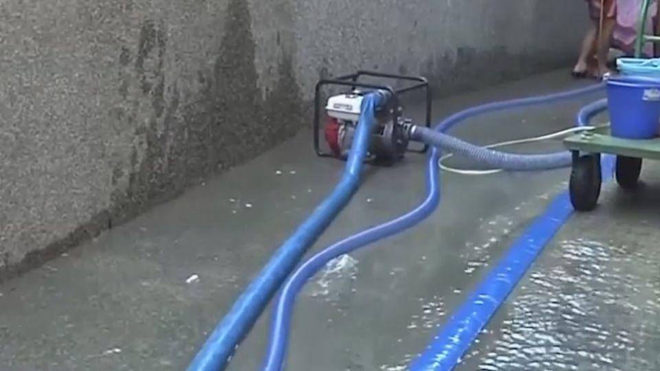 東海國小地下水冒不停 四台抽水機仍無解