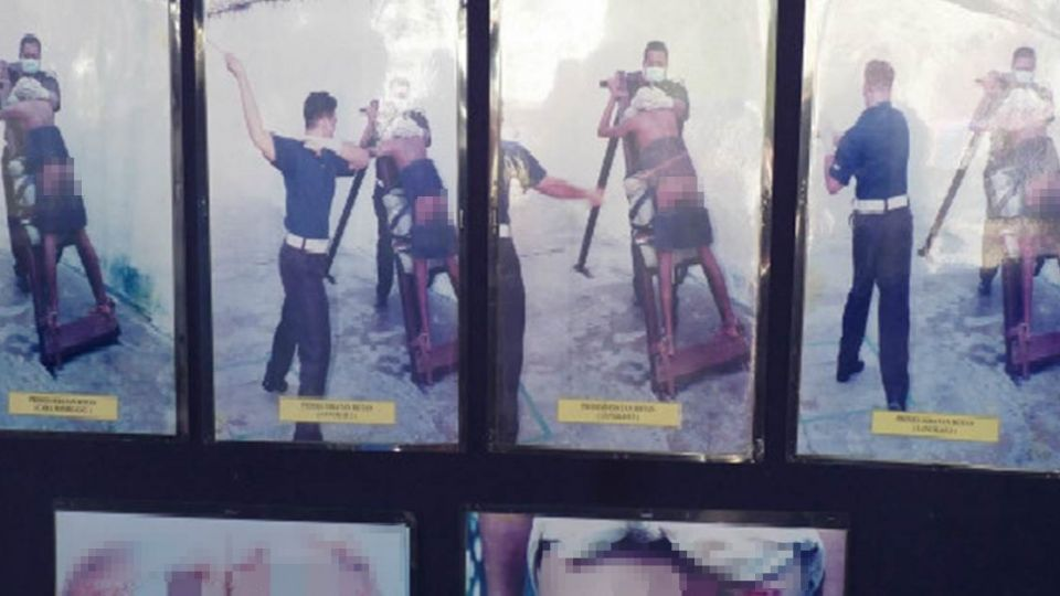 偷拍女老師裙底 新加坡男學生遭公開鞭刑!