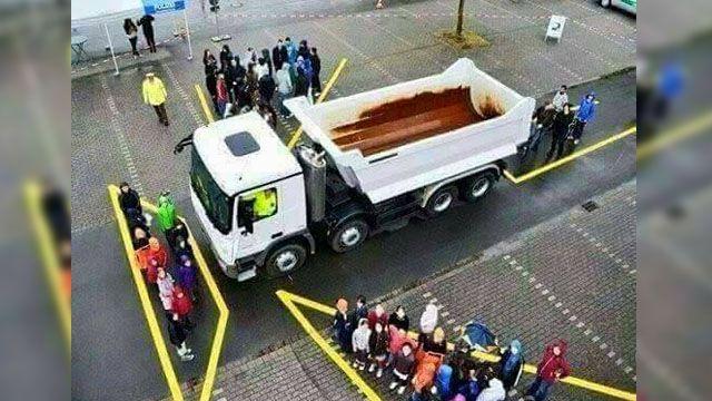 你一定要知道!1張圖秒懂大卡車死角