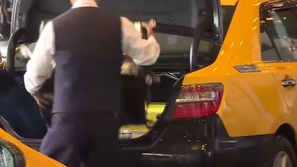 桃機第二航廈 計程車上車處更動紓解人潮