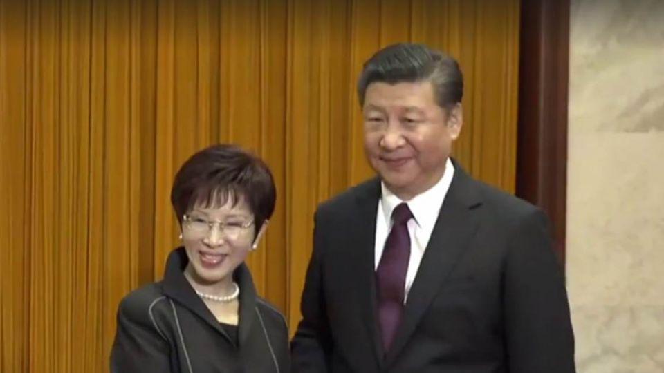 【影片】洪習會北京登場 洪秀柱提和平政綱對抗台獨