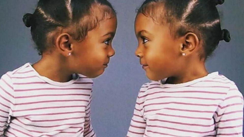 「無法接受比姊姊年輕一分鐘」 雙胞胎超萌對話11萬人按讚