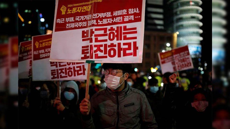 【端傳媒】南韓政壇「狗血連續劇」 會迫朴槿惠下台嗎?