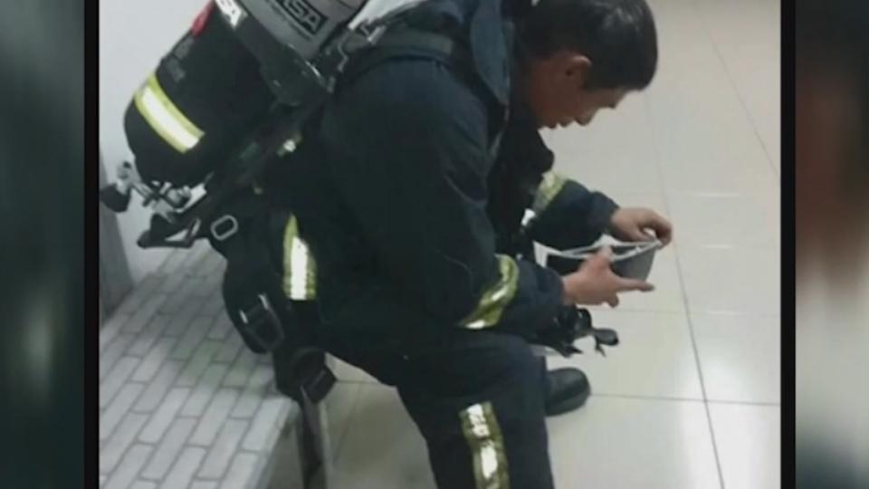救火義消車被拖 控警酸:誰叫你要去救災