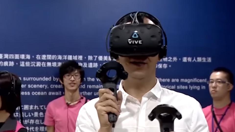 水下考古展登場 海底世界VR優游