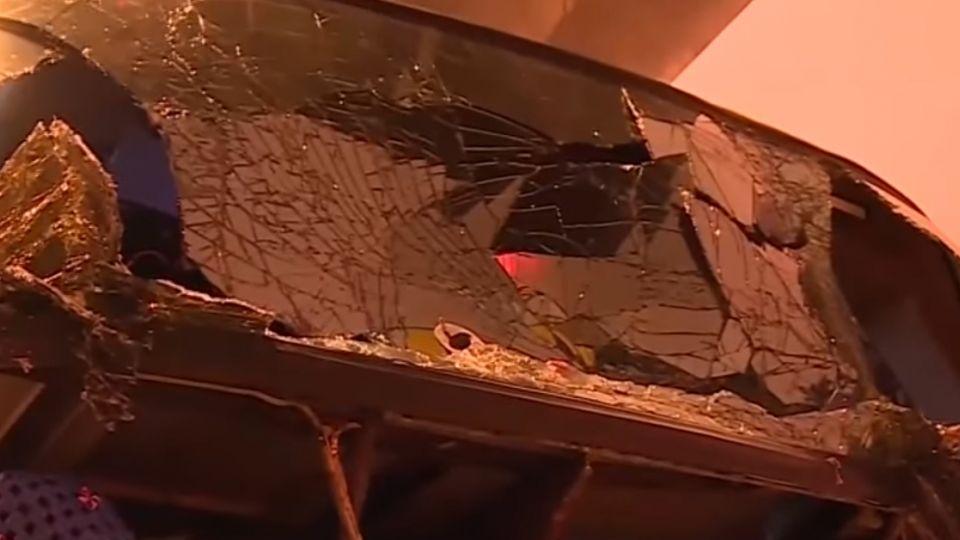 1日遊出發就車禍! 蘭潭隧道2遊覽車擦撞31傷