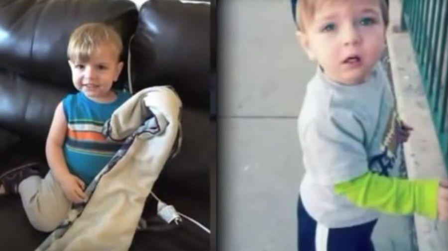 【影片】生日變葬禮!2歲童躲沙發下 遭老師一屁股「坐死」