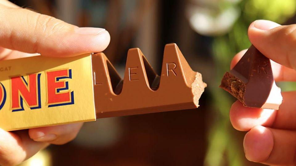 愚公偷移巧克力山!知名品牌改設計 11塊砍掉剩9塊