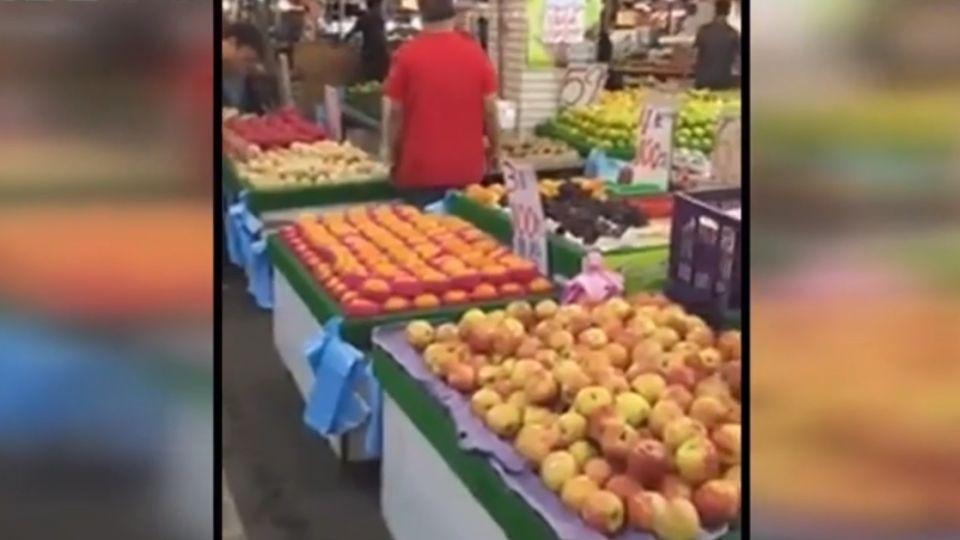 台南版水果PSY大叔 黃昏市場RAP叫賣水果