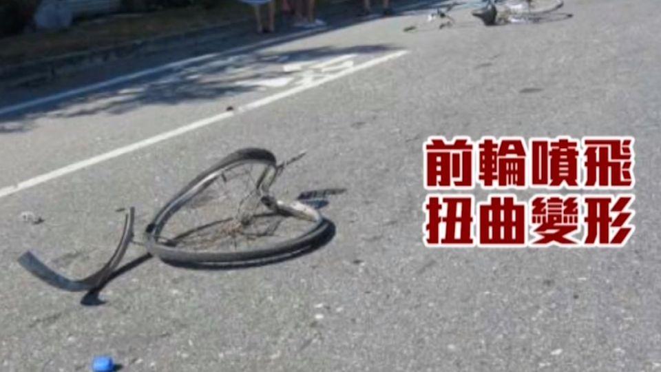 「開到路口竄出單車」 A柱死角?撞死單車男