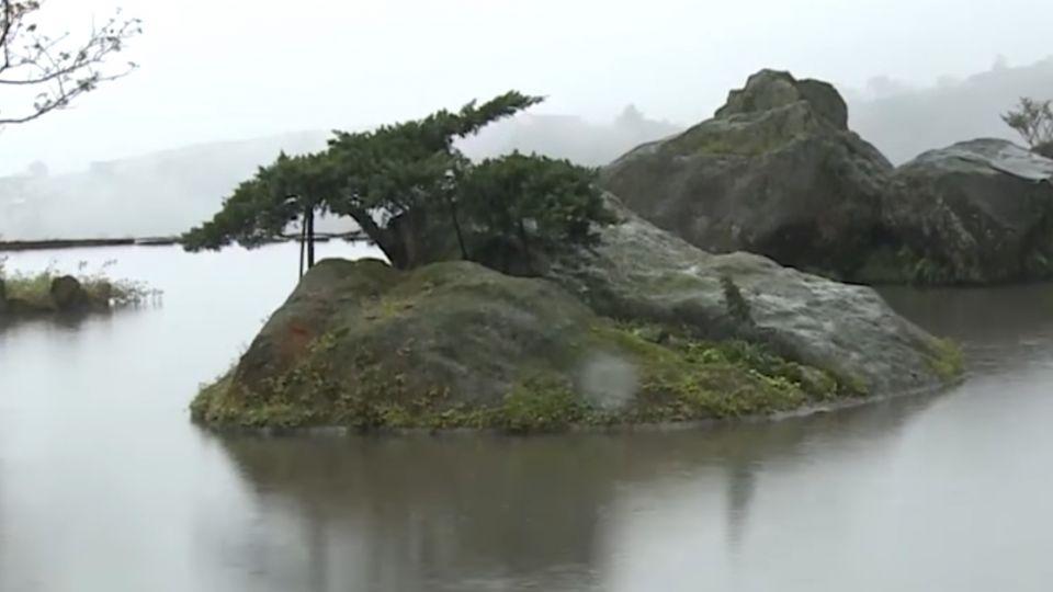 八煙封村爭議不斷 「水中央」池水11/20將放乾