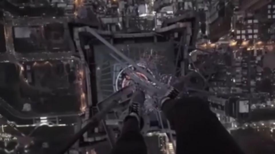 係金ㄟ!85大樓遭「攻頂」 最新畫面曝光