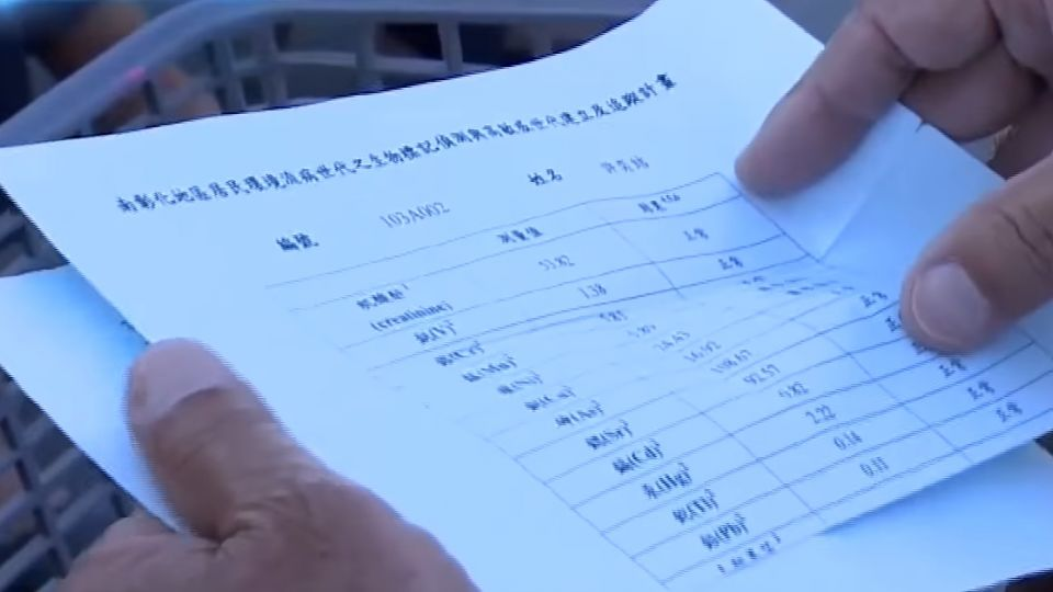 彰化大城台西 村民罹癌多身體有重金屬殘留