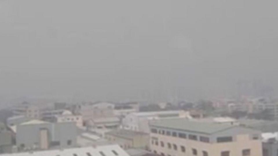 85大樓憑空消失?南部空汙嚴重「紫爆」了