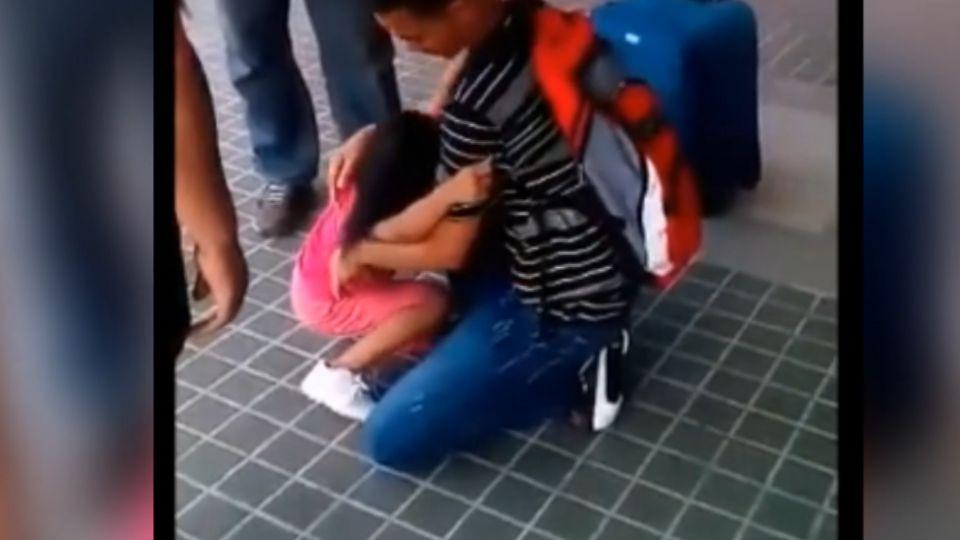 「想跟爸爸在一起」 父出國工作 菲女童機場大哭