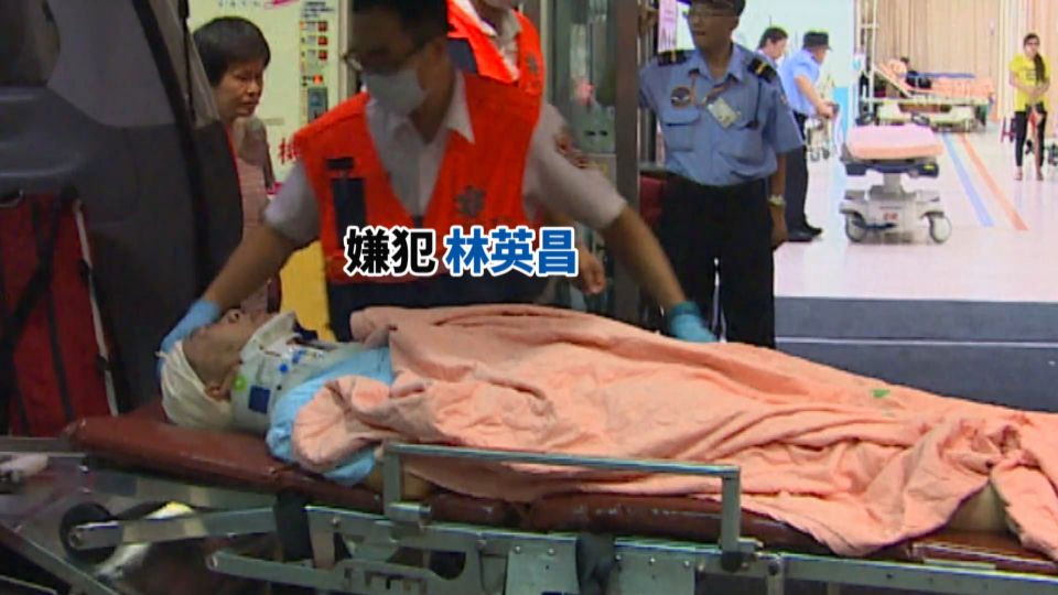 台鐵炸彈犯林英昌 犯殺人未遂等24罪 求刑30年