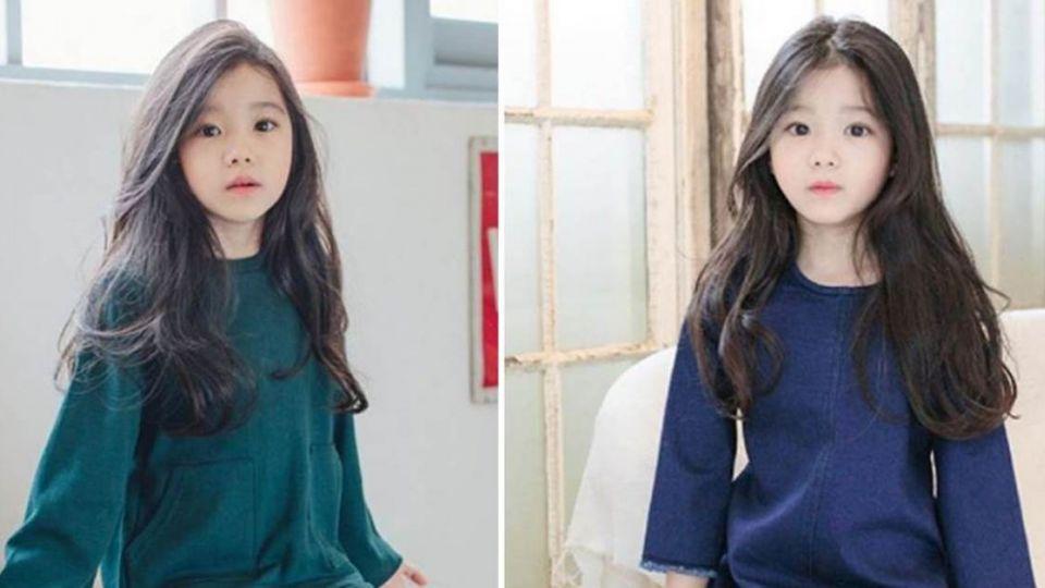 美到不科學!韓國8歲女童超會放電 空靈氣質迷倒一票人