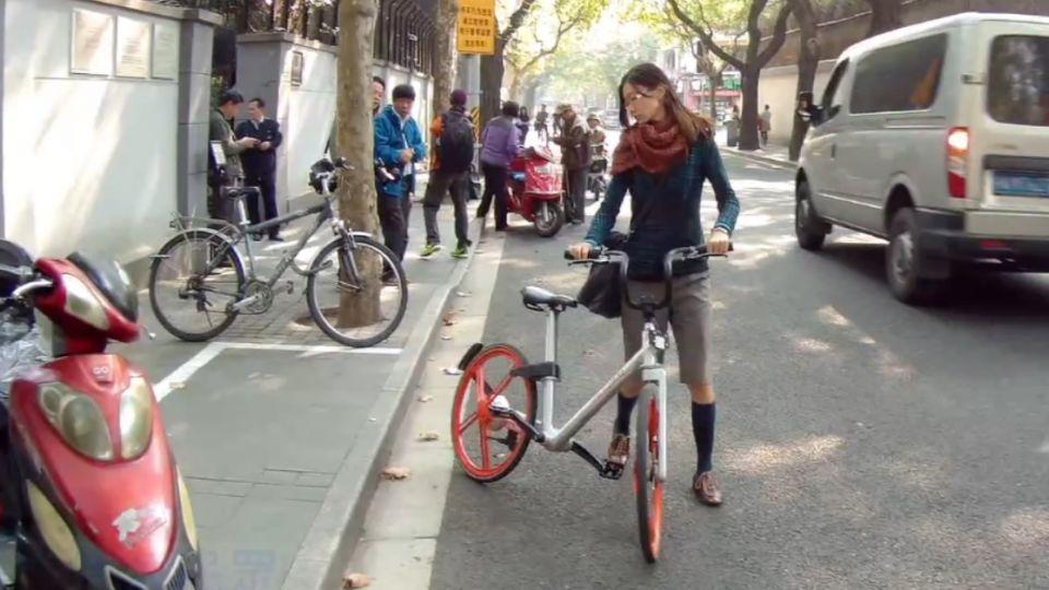 隨意取車隨處可停 上海單車好新「騎」