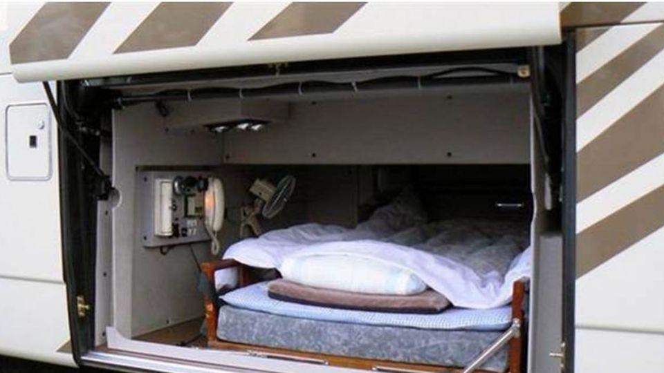 日本長途巴士司機休息室曝光 網友驚:停屍間吧