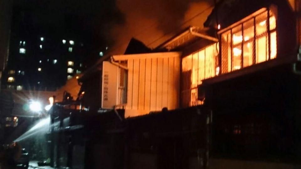 潭子國宅大火延燒近20戶 一名男子成焦屍