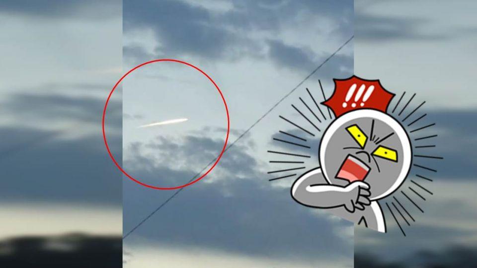 福島地震後異象 驚見「神秘光束」劃過天空!