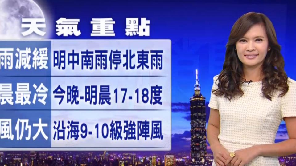 【2016/11/23】雨要減緩了 今晚-明晨最涼冷 最低17-18度