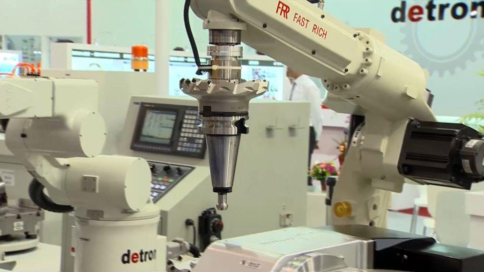 「啟動智慧製造、邁向工業4.0」國際工具機展盛大開展