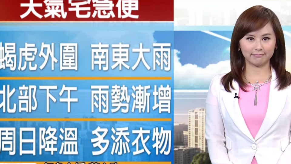 氣象時間 1051126 早安氣象 東森新聞HD