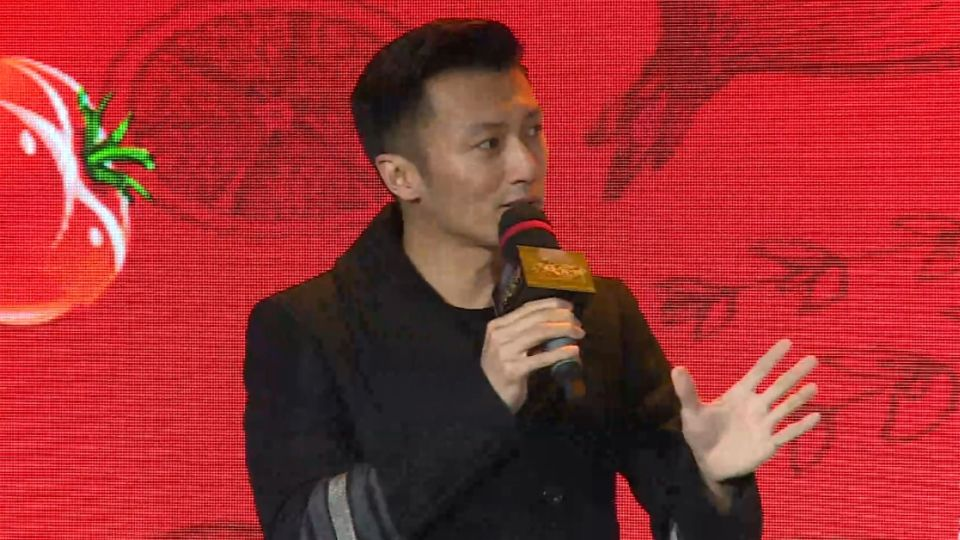 謝霆鋒宣傳新戲 只談美食避談王菲