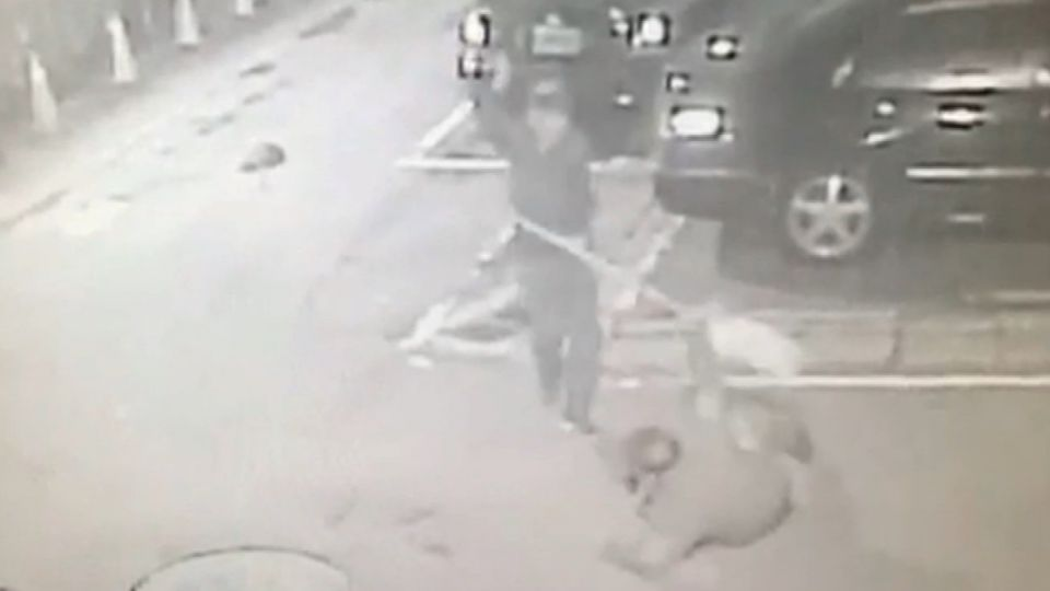 持刀男遇調查局警衛 雙方爆衝突警衛險遭砍